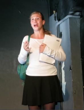 """Schauspielschule Krauss - Diplom 2014 Sophie Bauer - David Mamet´s """"Oleanna"""""""