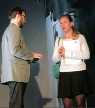 """Schauspielschule Krauss - Diplom Sophie Bauer - David Mamet´s """"Oleanna"""""""